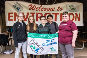 Abington Junior High School: Stone Himmelreich, Ryan Fedeli, Ethan Fox, Valerie Schneible, and Renee Krier