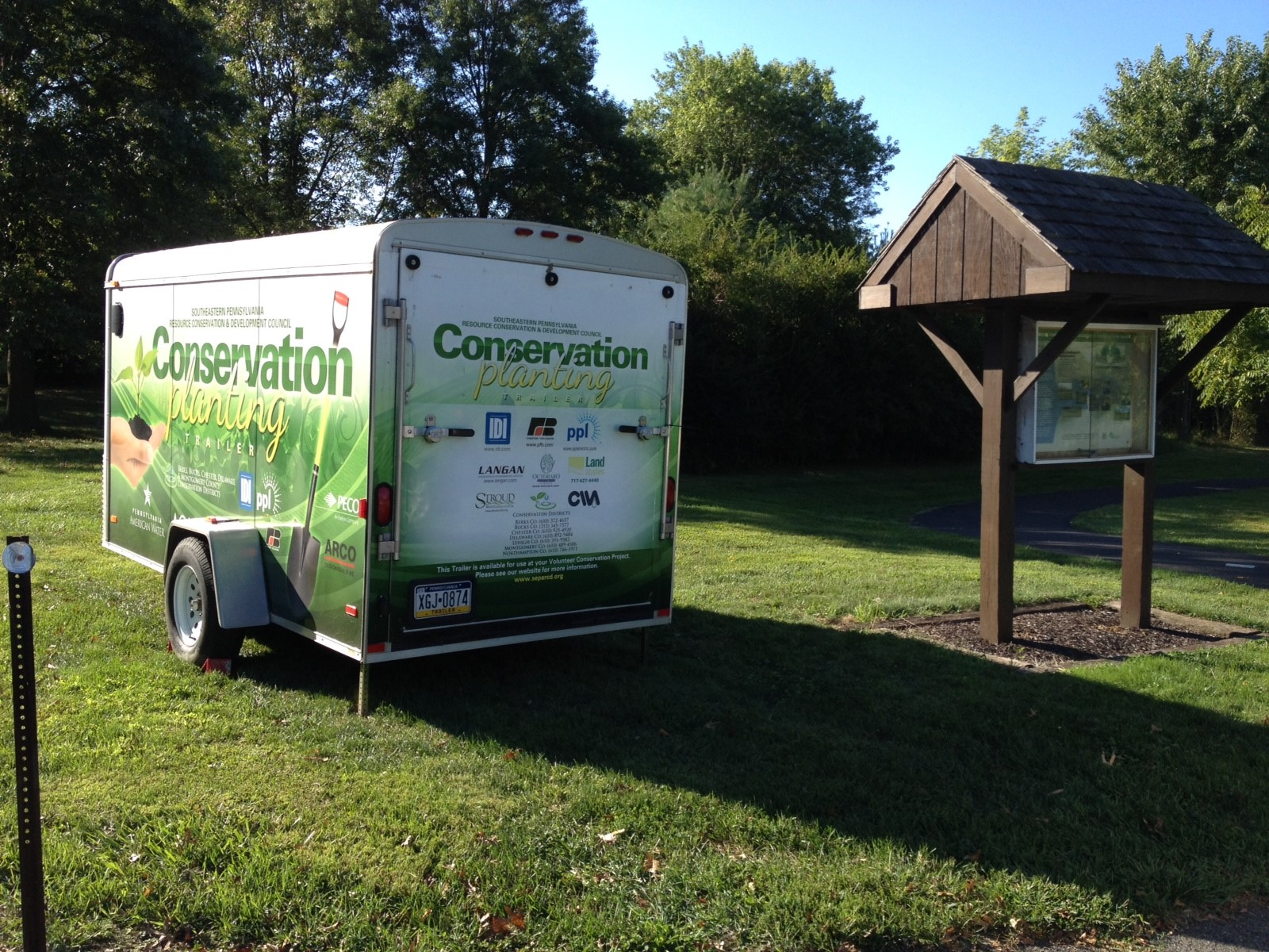 Conservation Tool Trailer